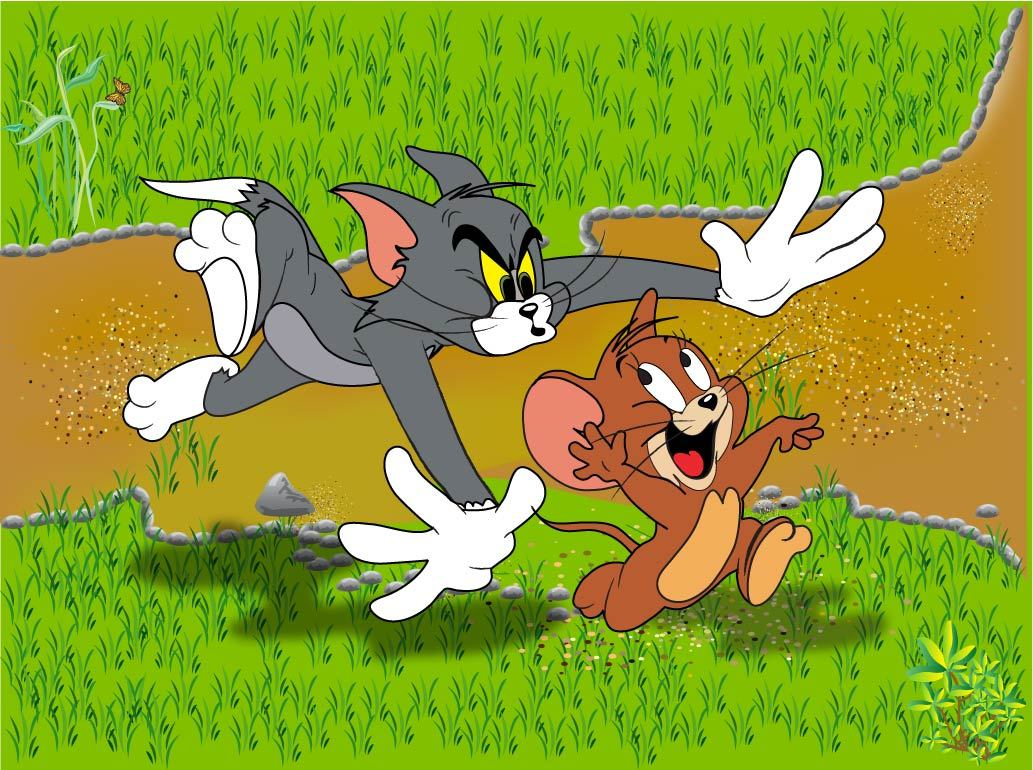 Tom and jerry cartoon happy