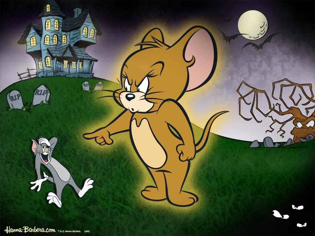 tom and jerry wallpaper angry