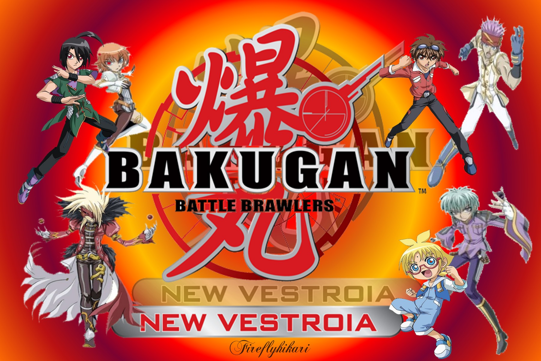 Bakugan Battle Brawlers HD Wallpaper  HD 4K 5K 6K 8K