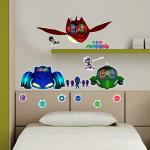 img 731586 164936WALLPJ16---PJ-MASKS---CAR-AND-VILLAINS-50X70-2fogli 1000X1000