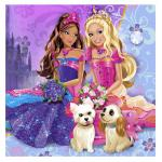 Barbie friend dog