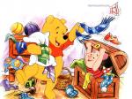 Winnie the pooh and friends famous cartoon