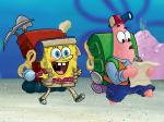 Spongebob and patric bag