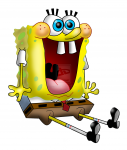 Spongebob squarepants smile