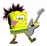 spongebob rocking