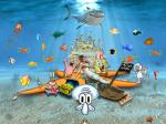 spongebob squarepants characters wallpaper