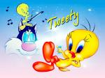 Cute Tweety Bird Wallpaper cover