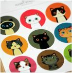 Cartoon Cat Stickers Decoration