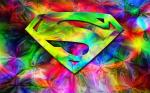 rainbow superman logo