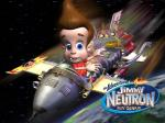 jimmy neutron on rocket wallpaper normal