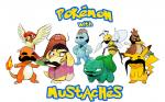 Pokemon with mustaches with words
