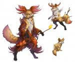 pokemon fennekin evolution line