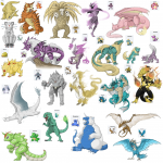 pokemon fusions wallpaper