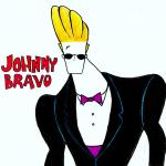 caricature johnny bravo