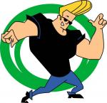 johnny bravo stickers