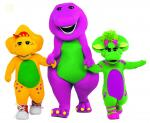 Barney background