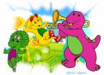 barney and friends cover