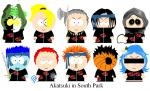 Akatsuki in South Park