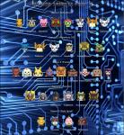 digimon tribute posters