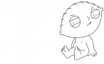 Stewie Griffin coloring