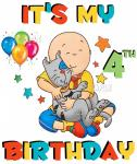 caillou and gilbert BIRTHDAY