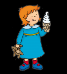Caillou ice cream