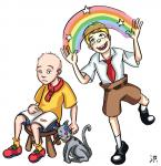 Caillou old