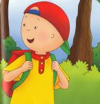 Caillou Out Hiking