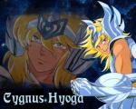 Hyoga knights of the zodiac
